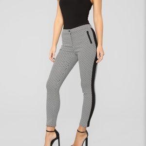 Fashion Nova Carlybelle print pants